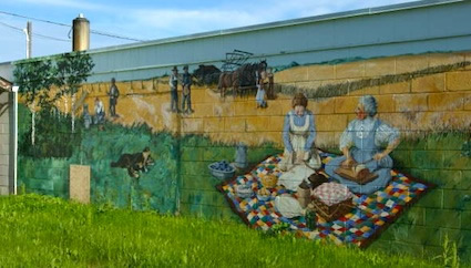 Mural in Whitewood, SK