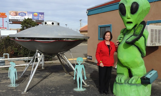 Patti Begin in Roswell, New Mexico.