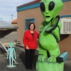 Patti Begin in Roswell, New Mexico.