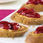 Classic peanut butter and jelly made for diabetic patients