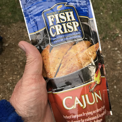 Consensus was Cajun Fish Fry from Canadian Tire was the favourite.