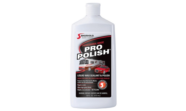 A bottle of Pro Polish.