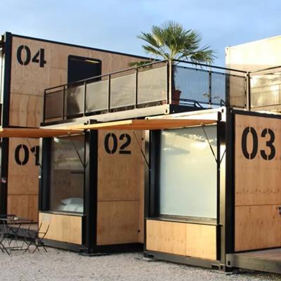 Modular accommodations.