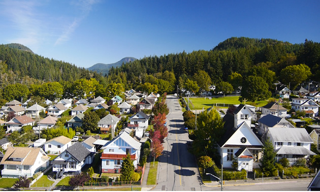 Powell River townsite