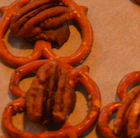 pretzels, candies and pecans
