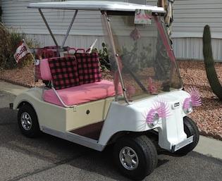 Princess golf cart