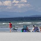 sandy beaches at Qualicum Beach BC