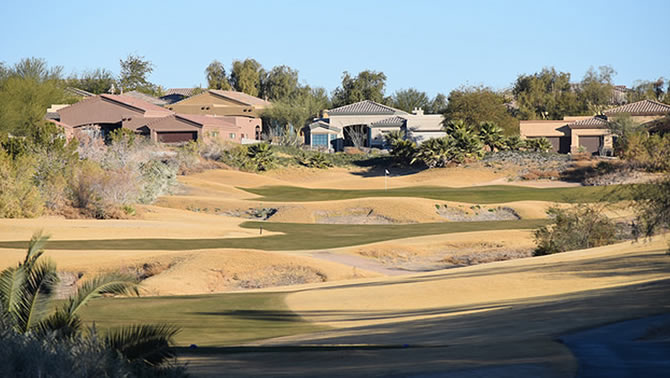 Refuge Golf Course, hole #7.
