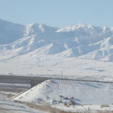 Returning from snowbirding to snow.