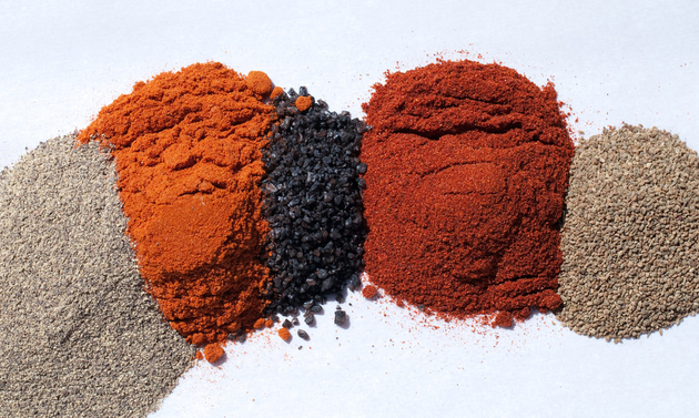 Rub spices add the perfect flavours.