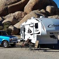 Ray Burr's Rig boondocking.