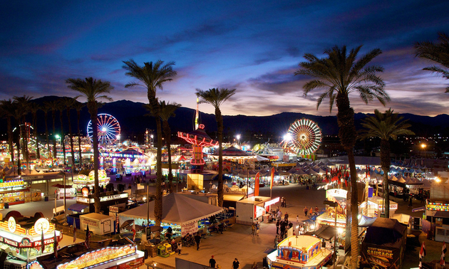 Palm Springs date festival fairgrounds