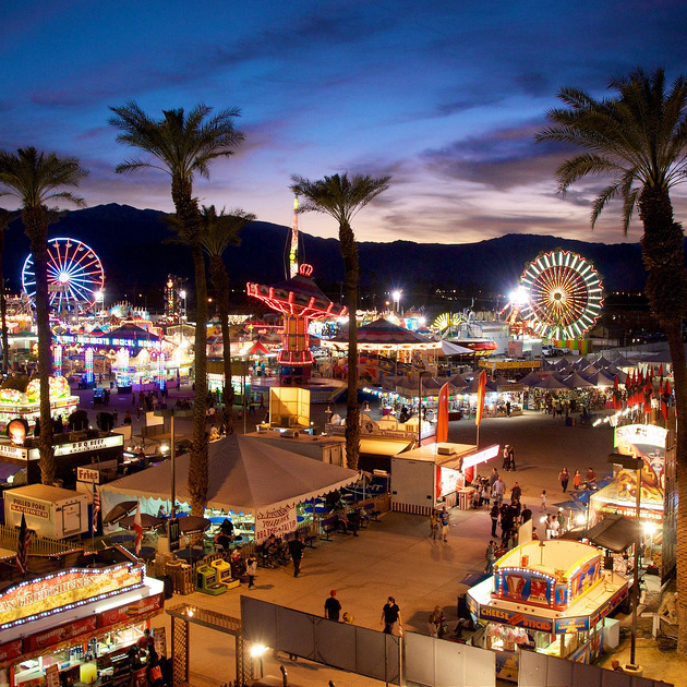 Palm Springs date festival fairgrounds