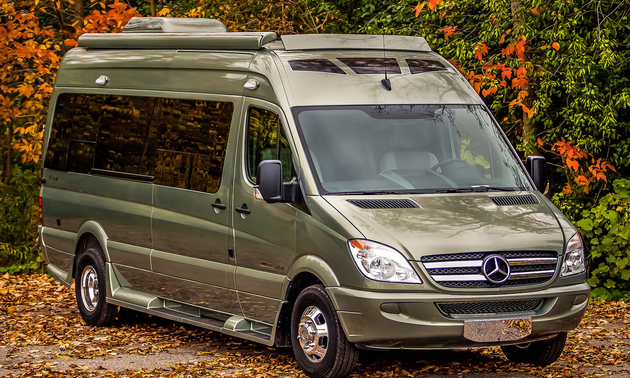 Roadtreck RS E-Trek Class B motorhome. Photo courtesy Roadtrek Motorhomes Inc