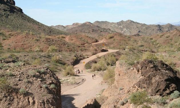 Road to the Desert Bar