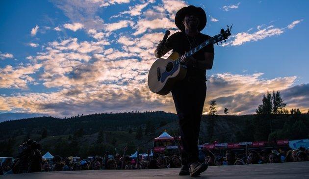Rockin River Musicfest in Merritt, B.C.