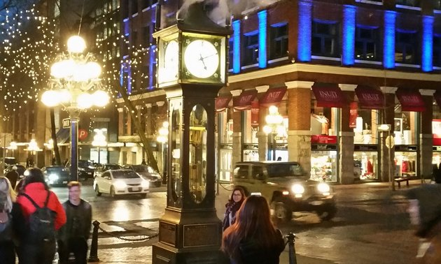 The Gastown steam clock is one attraction you'll want to snap a photo of.