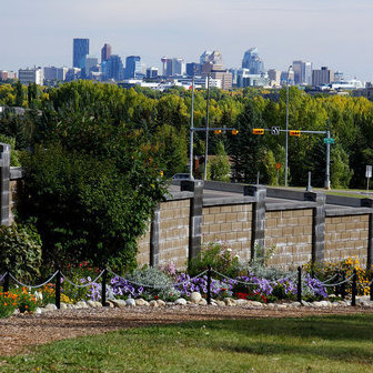The Botanical Gardens of Silver Springs are one of Calgary's most extensive developments of floral gardens and forest path garden beds wholly created and maintained by community volunteers with a passion for urban beautification.  Photo courtesy of Brenda Forsey.