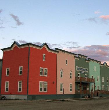 Dawson City, Yukon at 1:00 am  Photo courtesy Dave Bezaire & Susi Havens-Bezaire