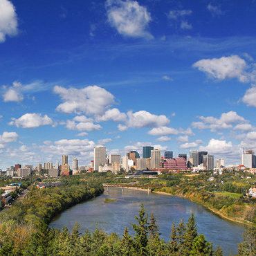 North Saskatchewan River Valley. Photo courtesy Edmonton Economic Development Corporation