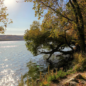 Mission Lake on the east side of Fort Qu'Appelle offers stunning landscapes both from down near the lake and from the hills surrounding. Photo by Dianne Mursell