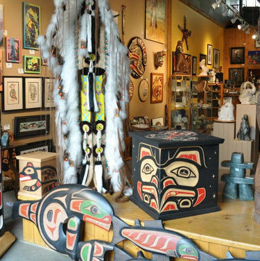 Learn about culture and history at the Turtle Island Gallery in Kelowna.