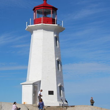 Enjoy some great photo ops, at Peggy's Cove, Nova Scotia.