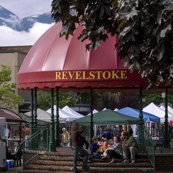 camping in Revelstoke