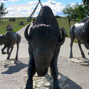 Wanuskewin Heritage Park in Saskatoon, SK