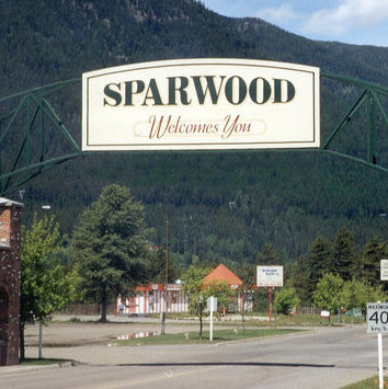 Sparwood, small town, big heart. Photo courtesy Sparwood and District Chamber of Commerce