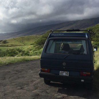 RVing in Maui, camping in Maui