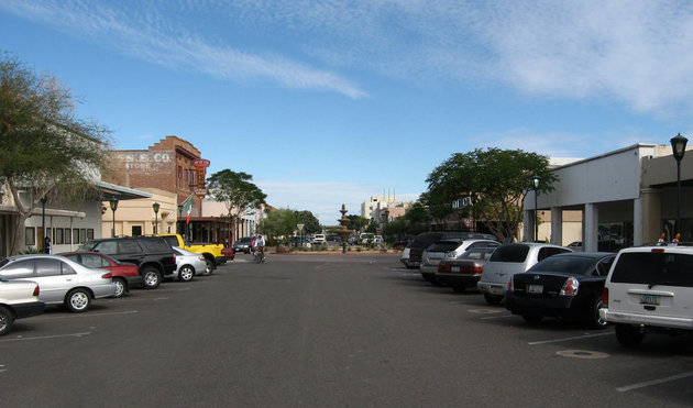 Historic downtown Yuma is one great place to check out.