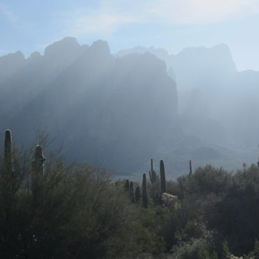 Go RVing in Apache Junction, and take in the exciting outdoor vistas.