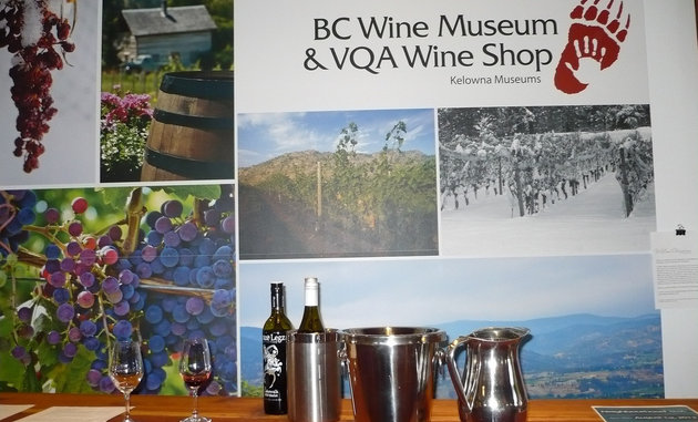 The B.C. Wine Museum in Kelowna