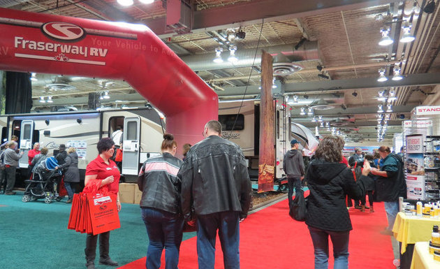 This year's RV shows offer more RV accessory retailers, and lighter products that fit within all types of budgets.