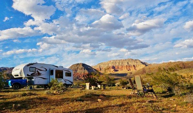 Virgin River Canyon Campground, Arizona
