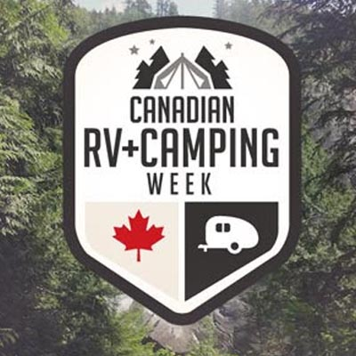 Canadian RV-Camping Week logo.