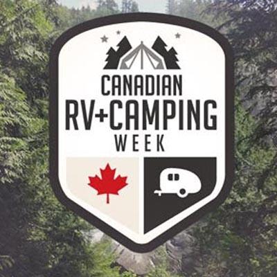 Canadian RV-Camping Week logo.