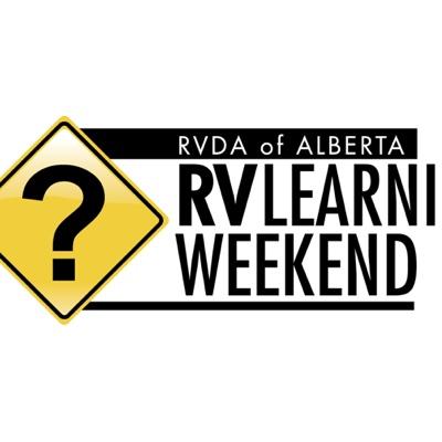 RVDA RV learning weekend logo.