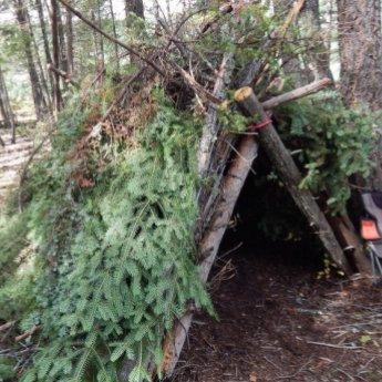 Camping encourages creativity and imagination.  Sue Gillard photo