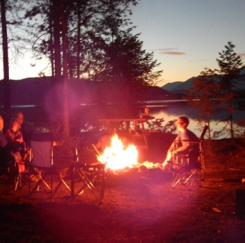 All part of the camping experience.  Sue Gilard photo