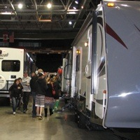 The BC Interior RV Show in Penticton, B.C.