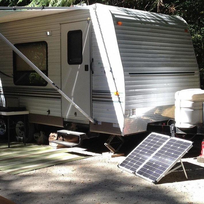 Portable solar kit for RVing