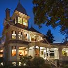 Historic Deepwood Estate at night