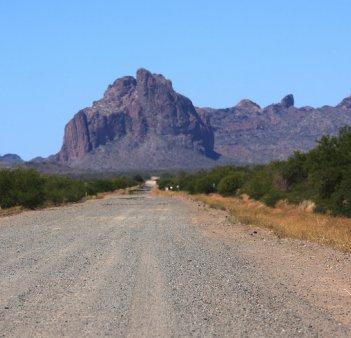 Courthouse Rock near Salome, Arizona Kevin Dooley photo