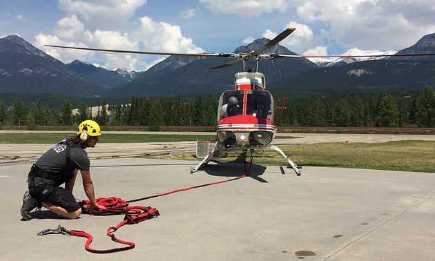 Search and rescue (SAR) teams in Golden, Nelson and Fernie have partnered to purchase crucial equipment to perform helicopter rescues.