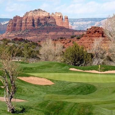 Sedona Golf Resort. Hole #10, Par 3. Photo