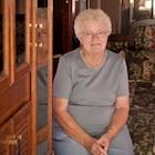 senior woman in a motorhome