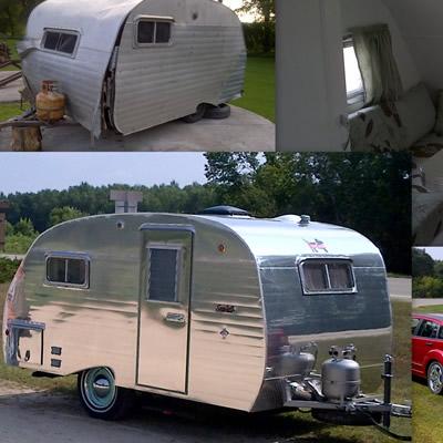 A 1960 Serro Scotty trailer.