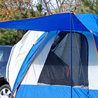 car with tent